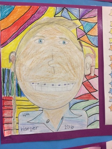 When your Self Portrait includes your cochlear implant